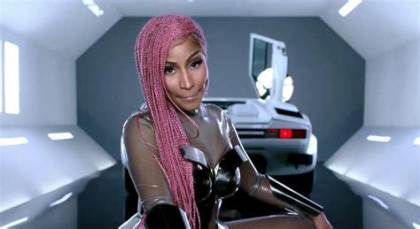 Motorsport Nicki Minaj Lyrics by Nicki Minaj Struts Pink Lemonade Braids In Motorsport