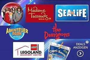 Legoland Jahreskarte Aktion : groupon rabatte f r merlin gruppe z b sea life dungeons legoland discovery centre ~ Eleganceandgraceweddings.com Haus und Dekorationen