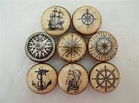nautical cabinet knobs Set of 8 Old World Nautical Cabinet Knobs