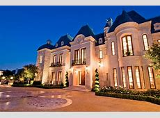 $50 Million 27,000 Square Foot French Mega Mansion In
