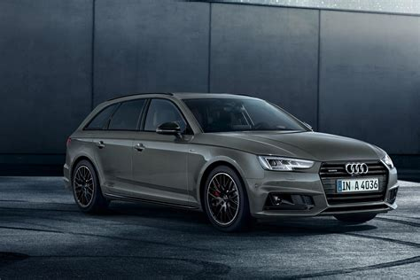 audi a4 range updated with new tech and black editions