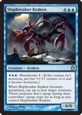 shipbreaker kraken  theros spoiler
