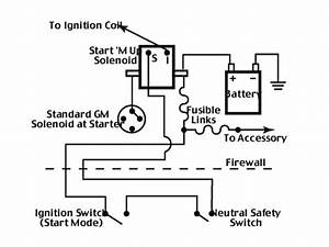 Older Gm Starter Solenoid Wiring Diagram