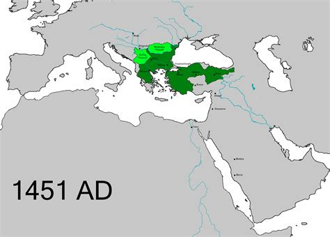 Ottoman Empire 1453 by Rise Of The Ottoman Empire Wiki Everipedia