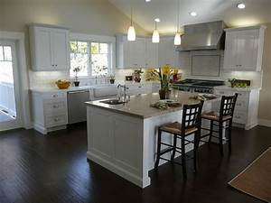 white kitchens with wood floors 2330