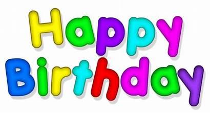 Birthday Happy Transparent Clipart Multicolor Yopriceville Trans