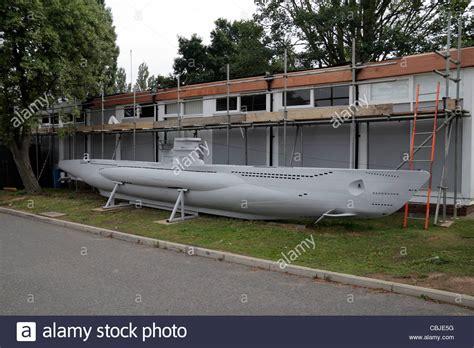 U Boat Model by A Scale Model Of A German World War Ii U Boat In The