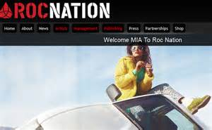 M.i.a. Signs Deal With Roc Nation
