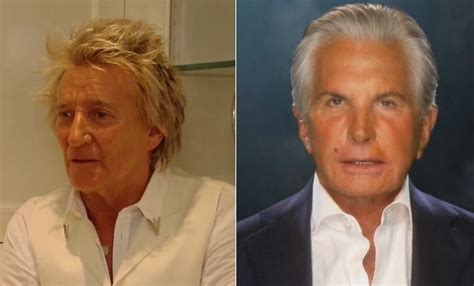 How Rod Stewart And George Hamilton Are Related