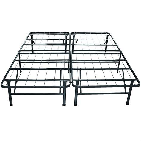 king bed frame metal king sleep master platform metal bed frame mattress