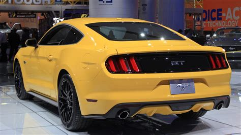 Ford Mustang Ecoboost Mpg by 2015 Ford Mustang Ecoboost Gas Mileage Revealed