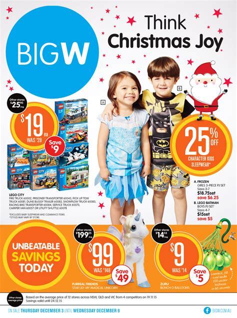 big  catalogue toy specials   dec