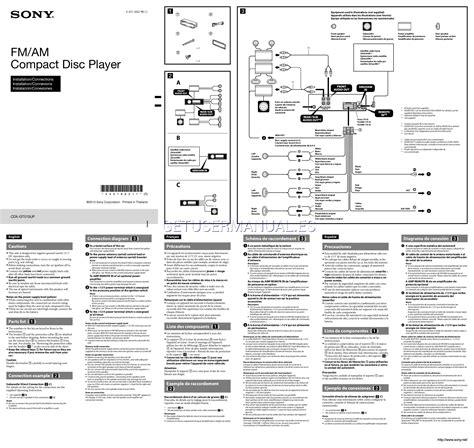 sony reciever wiring diagram wiring diagram database