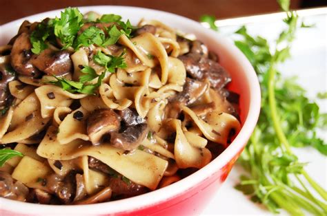 vegitarian recipes mushroom stroganoff vegan one green planetone green planet
