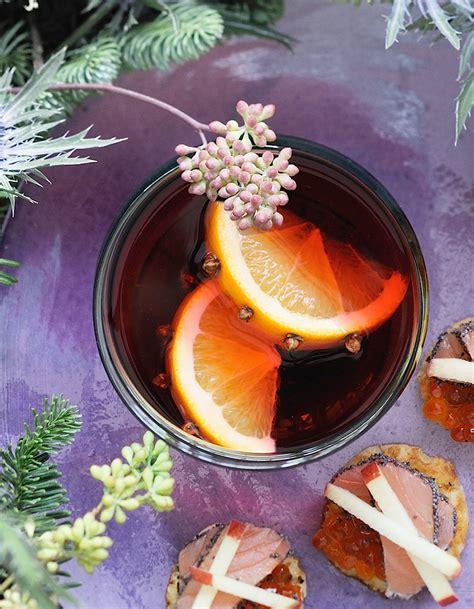 cuisine et vins de noel vin chaud orange hibiscus pour 8 personnes recettes