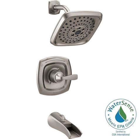 delta shower tub delta tolva h2okinetic single handle 3 spray tub and