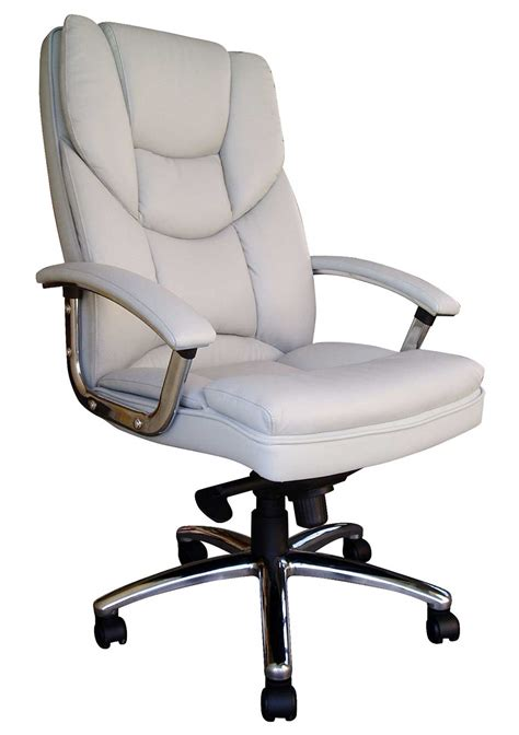 white executive office chair ikea chair white leather