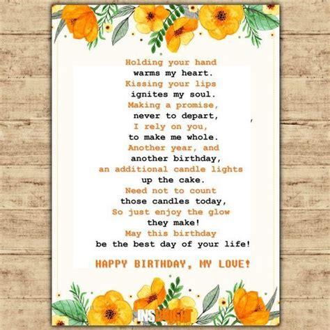 birthday poems  husband