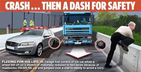 Nigel Farage's Car Wheels 'were Sabotaged In An