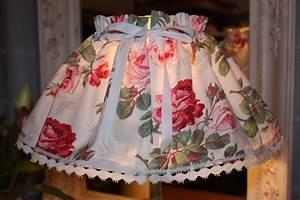 Création Abat Jour : kit de cr ation couture jupon abat jour toile fleurie la po sie du pass ~ Melissatoandfro.com Idées de Décoration