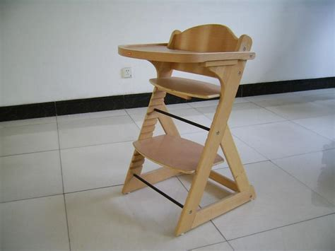 wh 5004 wooden baby high chair with tray