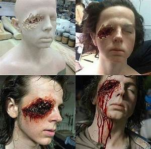 how they created Carl's eye | The Walking Dead | Pinterest ...