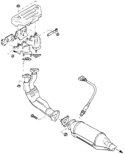 2000 Daewoo Leganza Exhaust Diagram by 2000 Daewoo Leganza 2 2l Mfi Dohc 4cyl Repair Guides