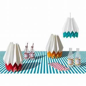Abat Jour Origami : lampe origami summer orikomi ~ Teatrodelosmanantiales.com Idées de Décoration