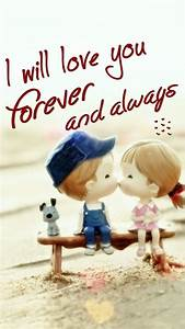 Download Wallpaper of i will love you forever HD