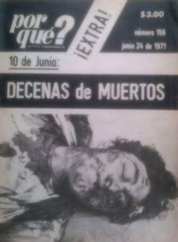 El Halconazo fue una matanza de estudiantes durante el 71 ...