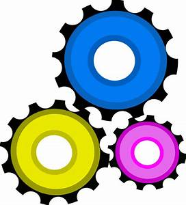 Gear Clock Gears Clip Art at Clker.com - vector clip art ...
