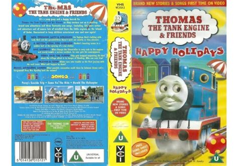 the tank engine and friends happy holidays 1999 on vci united kingdom vhs videotape