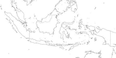 map  indonesia drawing    print
