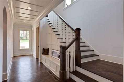 Home Stair : Brookhaven Custom Home-contemporary Tudor-traditional