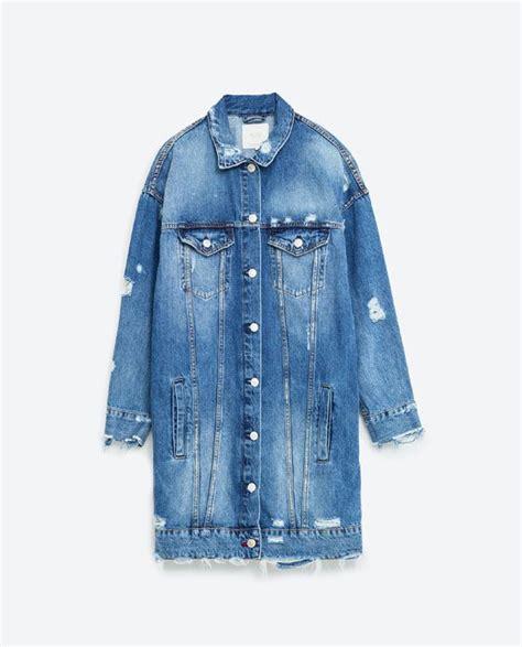 Best 25+ Long denim jacket ideas on Pinterest | Womenu0026#39;s 90s clothes Denim winter dresses and ...