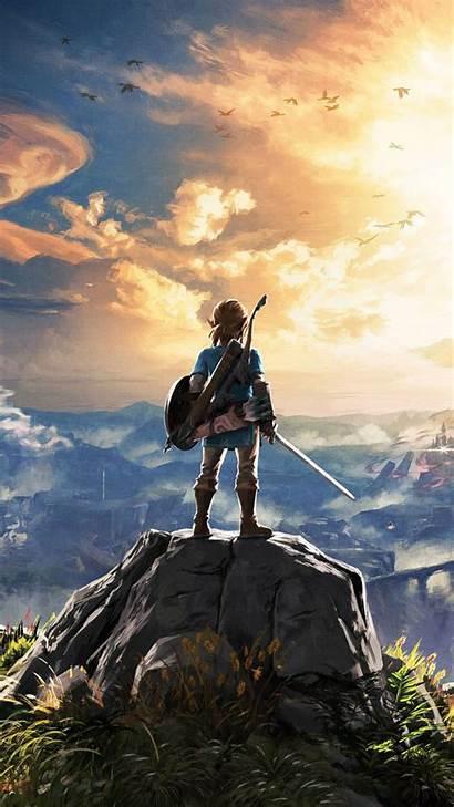 Zelda Legend Iphone Wallpapers Backgrounds Wallpaperaccess