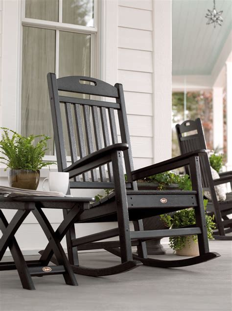 porch rocking chairs yacht club 21 quot x 18 quot side table