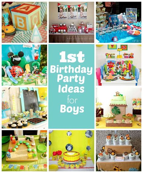 unique 1st birthday party ideas 95 unique 1st birthday party themes for boys girl