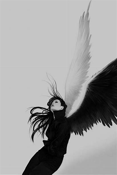Wings Angel Background Wallpapers Angels Iphone 4k