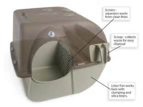 self cleaning cat litter box omega paw self cleaning litter box regular taupe