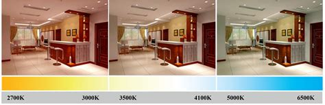best led color temperature for kitchen 5w insulation compatible dimmable led light vic6064 9155