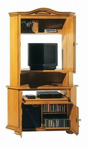 Meuble Tv Haut : meuble tv d 39 angle haut ~ Teatrodelosmanantiales.com Idées de Décoration