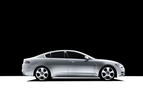 Jaguar Xf Backgrounds by 2009 Jaguar Xf Studio Side Black And White Background