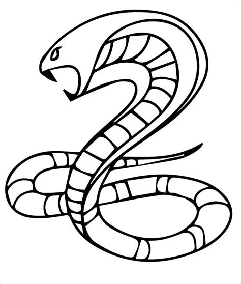 Coloring Templates For by 45 King Cobra Coloring Page King Cobra Coloring