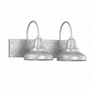 universal 2 light vanity sconce barn style bathroom lighting With barn style bathroom lighting