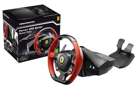 siege volant xbox one test 458 spider racing wheel pour xbox one