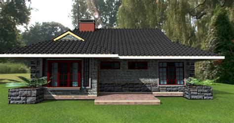 david chola architect deluxe bedroom bungalow house plan