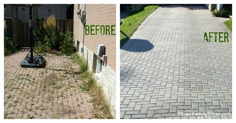 how to make a free brick driveway that stays that