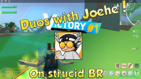 strucid battle royale duos  joeheroblox youtube
