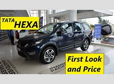 TATA HEXA Price & First Look Interior and Exterior